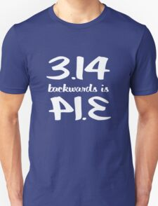 Pi Backwards is Pi T-Shirt