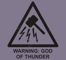 Warning: God of Thunder by byway