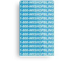 Wii Shop Bling Metal Print