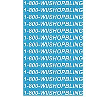Wii Shop Bling Photographic Print
