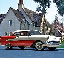1956 Oldsmobile Two-Door Hardtop by DaveKoontz