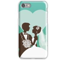 Wedding invitation design iPhone Case/Skin