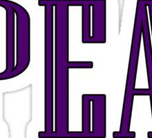 Spear Design Sticker