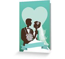 Wedding invitation design Greeting Card