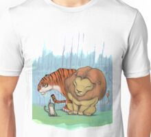 Lion, tiger & kitty. Unisex T-Shirt