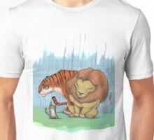 Lion, tiger & kitty. Unisex T-Shirt
