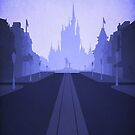 A Main Street in Blue by Blair Campbell