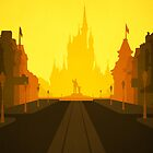 A Main Street in Gold by Blair Campbell
