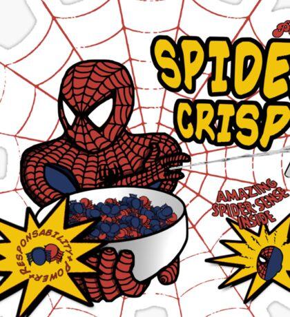 Spidey Crisp Sticker