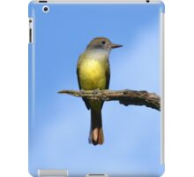 Great Crested Flycatcher (iPad Case) iPad Case/Skin