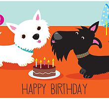 Happy Birthday from the Terriers by BonniePortraits