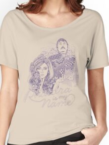 Phaedra is my Name- Dusty Purple Women's Relaxed Fit T-Shirt