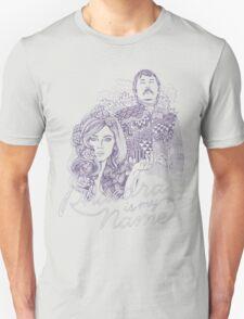 Phaedra is my Name- Dusty Purple Unisex T-Shirt