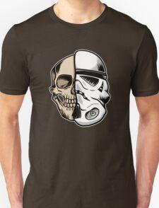 Star Wars Stormtrooper Skull Art T-Shirt