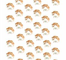 Hedgehog Pattern by voiceonfire