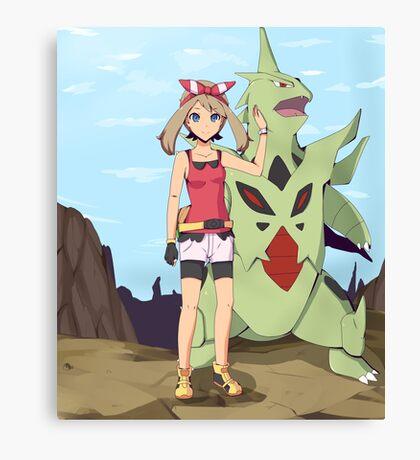 Pokemon May Canvas Print