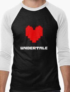 Undertale : Heart Men's Baseball ¾ T-Shirt