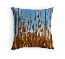 Long Island - Montauk Lighthouse Throw Pillow