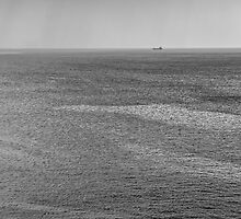 Alone on Horizon by Burcin Cem Arabacioglu