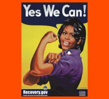 Recovery.gov Michelle Obama as Rosie The Riveter Kids Clothes