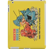 ROCK 'EM, SOCK 'EM JAEGERS iPad Case/Skin