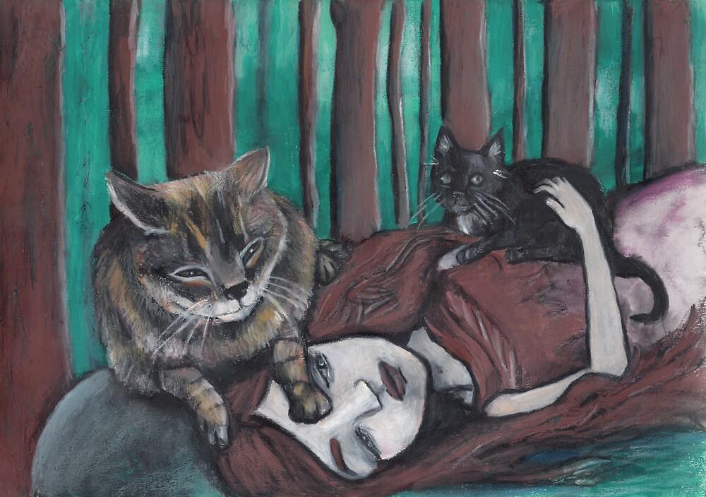 Last day in the forest by Ida Jokela