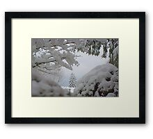 Out My Front Door Framed Print