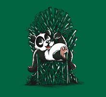 Panda on Throne Unisex T-Shirt