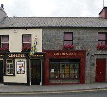 Greene's Bar by Allen Lucas