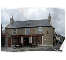 Hyland's Burren Bar Poster