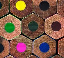 Coloured pencils  by Gabrel