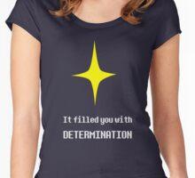 Determination :: Star Women's Fitted Scoop T-Shirt