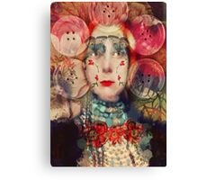 Pearly Queen Canvas Print