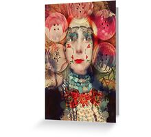 Pearly Queen Greeting Card