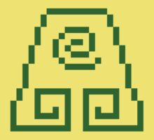 8bit Earth Kingdom Emblem 2 - 3nigma by CrissChords
