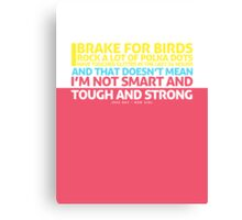 New Girl | Jess Quote Poster Canvas Print