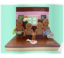 The Gingerbread Family  Poster
