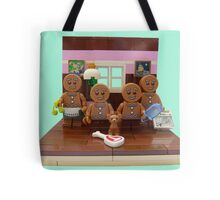 The Gingerbread Family  Tote Bag