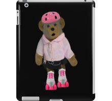 "。◕‿◕。 ""WHAT"" YOU DIDN'T KNOW TEDDY BEARS CAN ROLLER SKATE WELL YOUR LOOKIN AT ONE!! IPAD CASE。◕‿◕。  iPad Case/Skin"