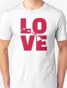 Hawaii love Unisex T-Shirt