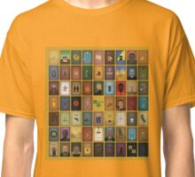Breaking Bad - 62 posters yellow Classic T-Shirt