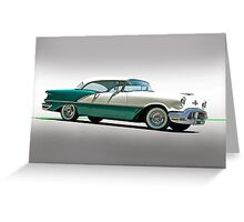 1956 Oldsmobile Rocket 88 Greeting Card