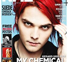 Gerard Way MCR NME by georgina edwards