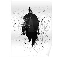 Heisenberg - Remember My Name - Black and Grey w/o text Poster