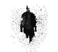 Heisenberg - Remember My Name - Black and Grey w/o text Photographic Print