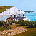 Sussex Paintings by Paula Oakley by Paula Oakley
