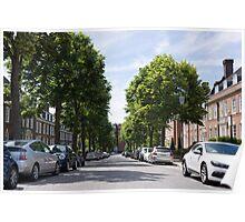 holland park street scene, Poster
