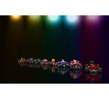 Street Racer pixel art Photographic Print
