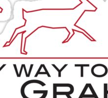 On my way to help Will Graham Sticker