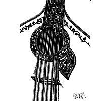 Fado Guitar Photographic Print